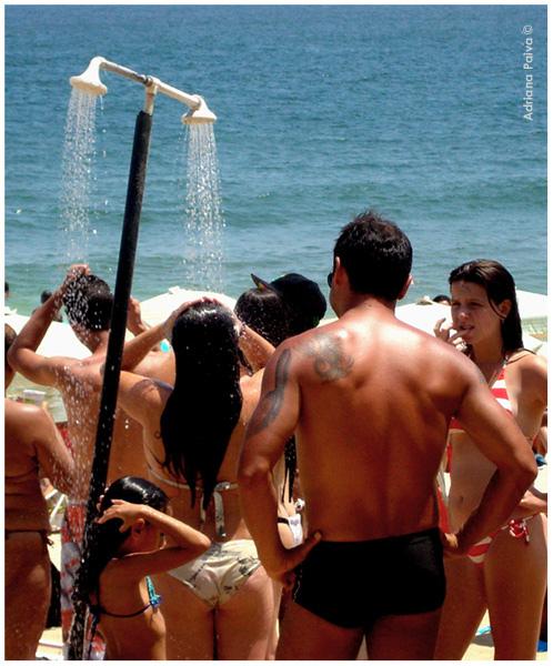 Chuveiro da praia