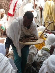 Eucaristía en Lalibela