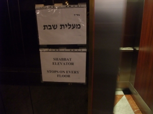 Ascensor Shabbat-Flickr