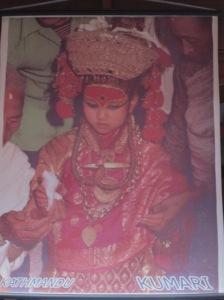 Diosa Kumari Katmandú