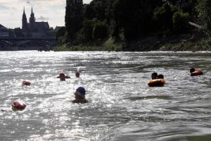 Tirarse al río en el Rin